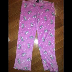 Joe Boxers unicorn pajama pants sz XL juniors